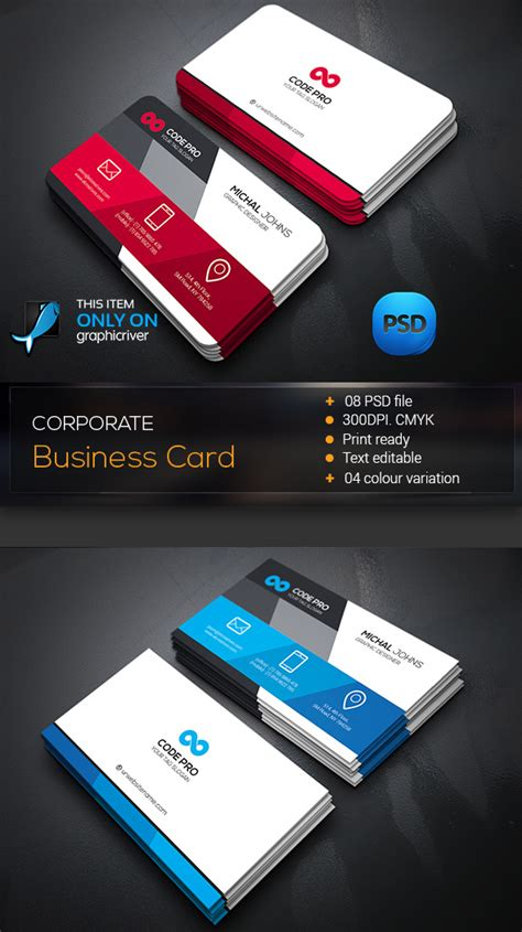 create cool business card template photoshop 15 premium business card templates in photoshop