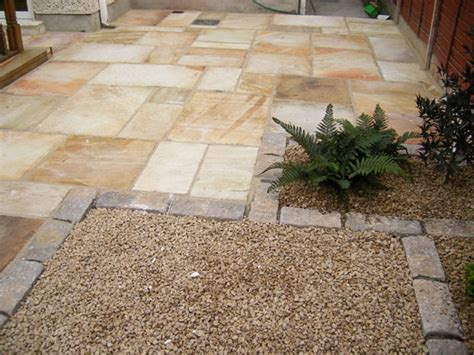 Patio Slab Design Ideas by Finglas Garden Patio Paving Project Gardenviews Ie