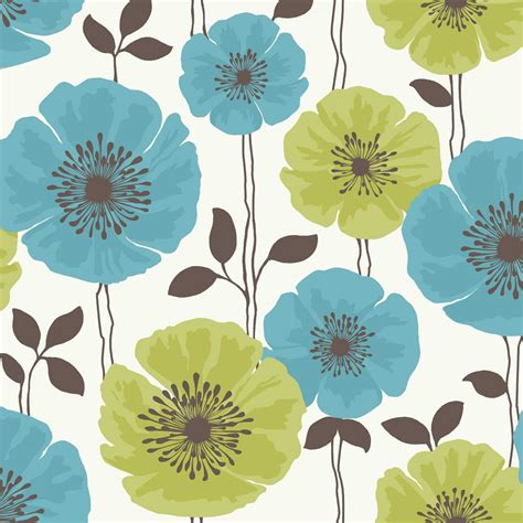 wallpaper teal flower teal and pink flower backgrounds fine decor view
