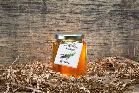8 Lavender Infused Products by Lavender Infused Honey Kg Bees