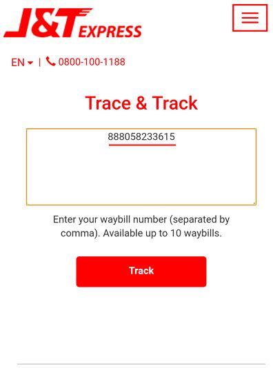 cek resi lengkap cara cek nomor resi j t express dengan cepet terbaru 2018