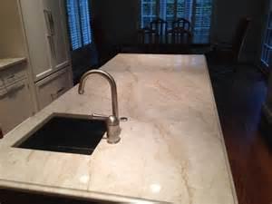 white pearl quartzite kitchen modern dallas by