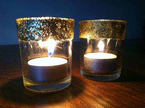 candel holder glitter votive candle holders crafting and cooking