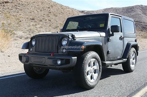 new jeep wrangler new 2018 jeep wrangler spied testing in the desert will