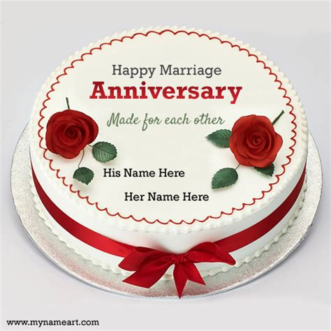 Wedding Anniversary Wishes With Cake by Write Parents Name On Cake Pictures For Golden Anniversary