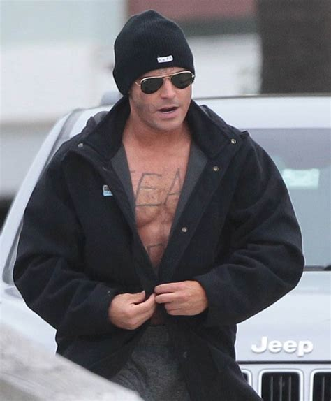 you won t believe what zac efron looks like in new movie zac efron s open robe on the set of dirty grandpa lainey