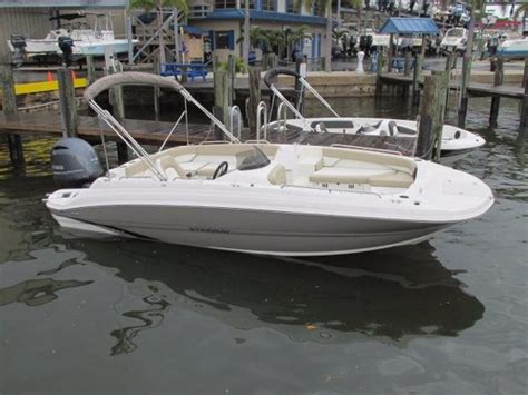 used deck boats for sale in sc stingray 192 sc boats for sale boats