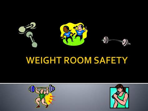 safety in the weight room ppt weight room safety powerpoint presentation id 2113294