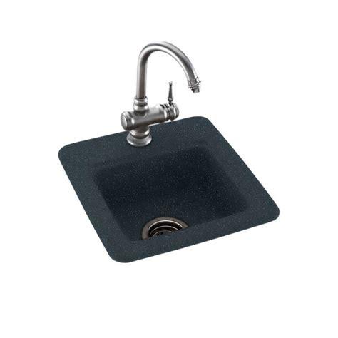 Mount Bar Sink by Swan Drop In Undermount Solid Surface 15 In 1 Single
