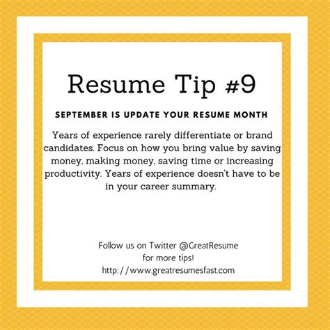 Update Resume Tips by 64 Best 2017 Resume Tips Images On Resume Tips