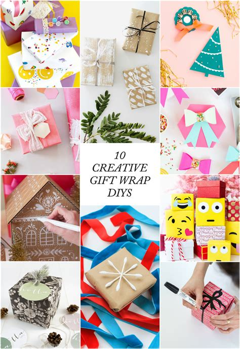 10 creative ways to wrap presents the crafted life