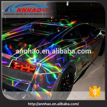 rainbow glitter car wholesale 1 48 20m air free holographic laser
