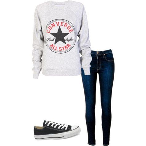 Sweater Converse Two By Syintashop 15 best chilly images on feminine