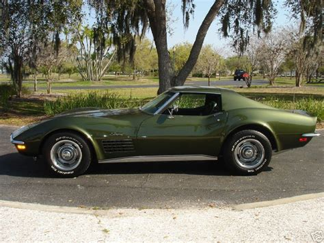 corvette stingray green 1970 green chevy corvette stingray a photo on