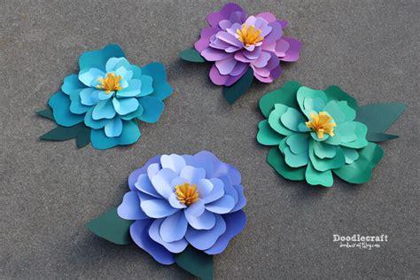 hawaiian paper flower tutorial the best paper flower tutorials hey let s make stuff