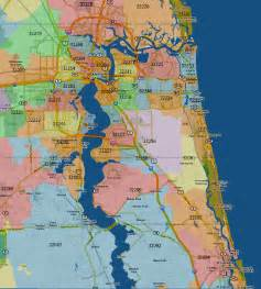 jacksonville florida map with zip codes duval county florida zip code map pictures to pin on