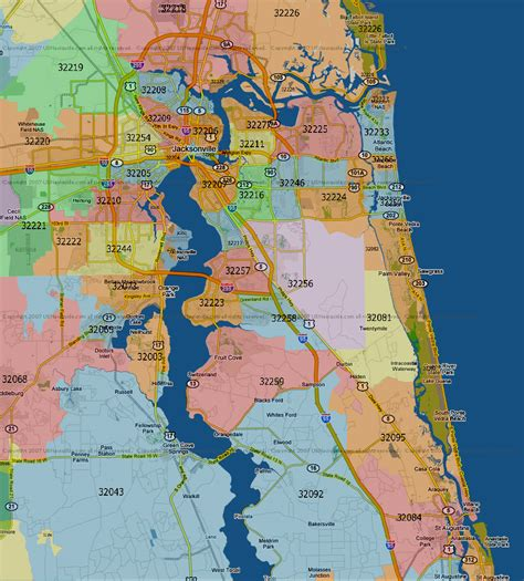 jacksonville florida map maps and areas jacksonville highlights