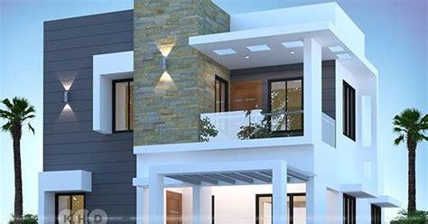 bhk cute modern house  sq ft kerala home design