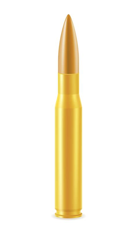 ball cartridge   bullet vector illustration   vectors clipart graphics
