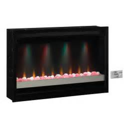 Fireplace Insert Electric Shop Classicflame 36 In Black Electric Fireplace Insert At Lowes