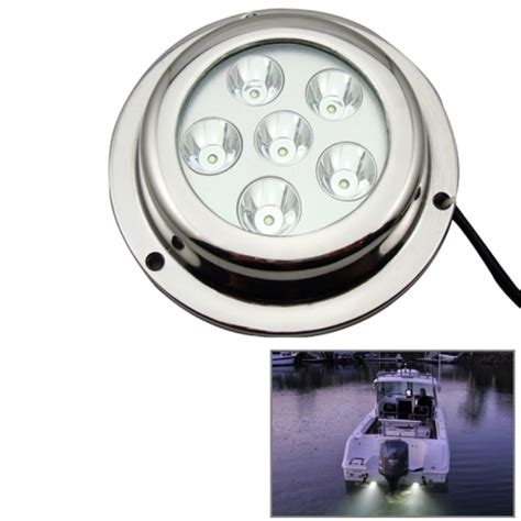 cree led boat lights stainless steel 18w white light cree led underwater boat
