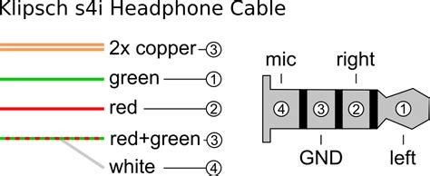 4 pole headphone wiring diagram wiring diagram