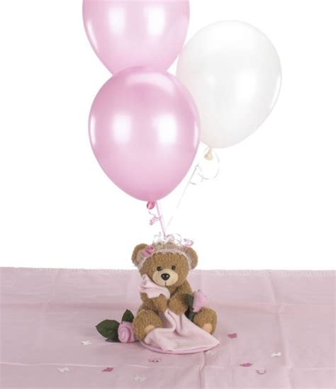 balloon centerpieces for baby shower teddy baby shower decorations teddy theme baby