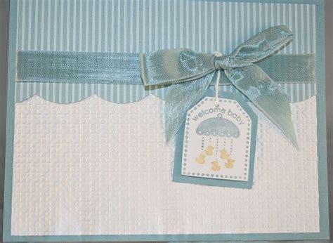 Welcome Handmade Cards - handmade greeting card welcome baby boy