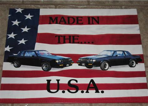 buick grand national poster buick grand national poster