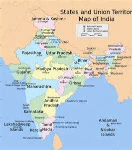 India Map States by Opinions On States And Union Territories Of India