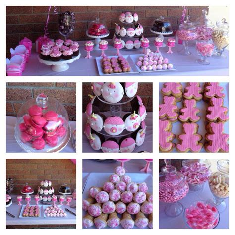 Dessert Bar Ideas For Baby Shower by Lolly Sweet Buffets Cakes By
