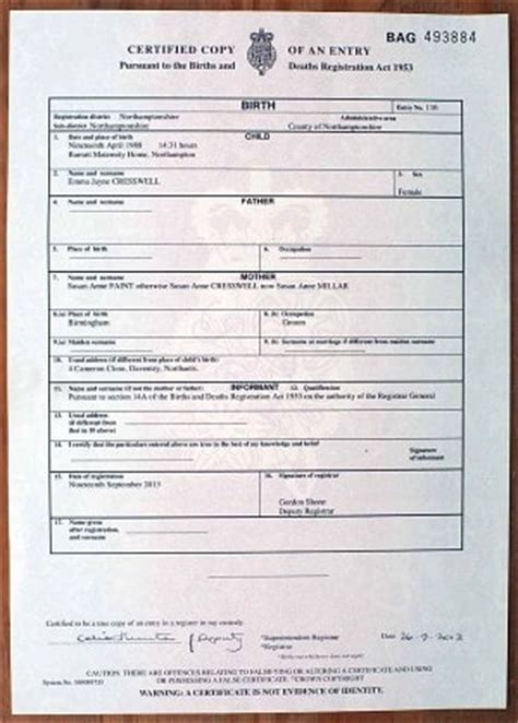 uk birth certificate template my was a lie now gaps on my birth certificate