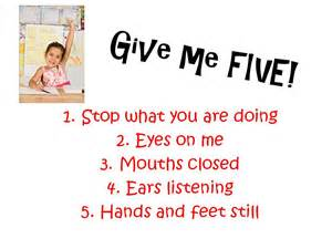 Give Me 5 The House Cool Teach Adventures In Teaching Give Me Five