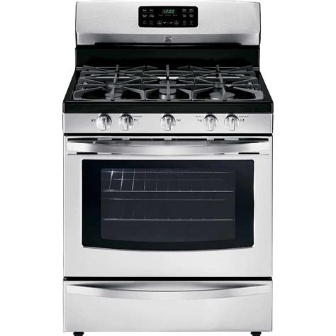 gas and electric range kenmore 74233 5 0 cu ft freestanding gas range sears