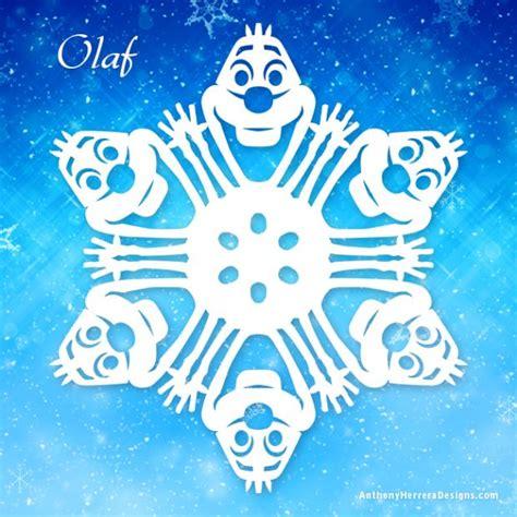 printable diy snowflakes olaf printable frozen snowflake disney frozen