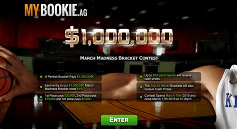 March Madness Bracket Sweepstakes - mybookie bracket contest march madness sportsbooks