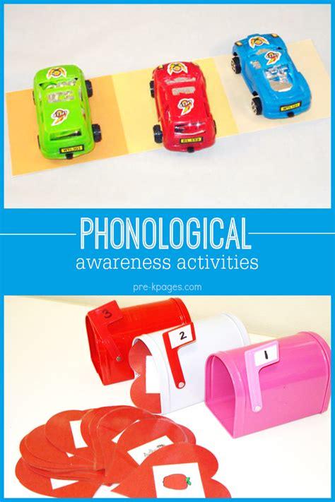 kindergarten activities phonemic awareness how to teach phonological awareness skills