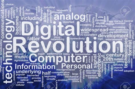 Digital Revolution why should the industry embrace the digital revolution