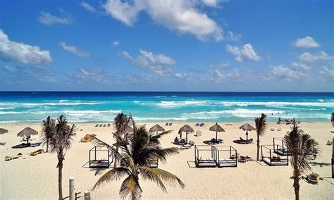 all inclusive grand oasis cancun trip with airfare from vacation express in cancun mx