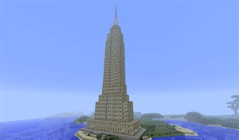 How To Build A Building by Empire State Building Download Minecraft Project