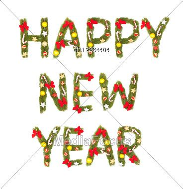 new year symbols in order new year greeting stock photo sf112264404