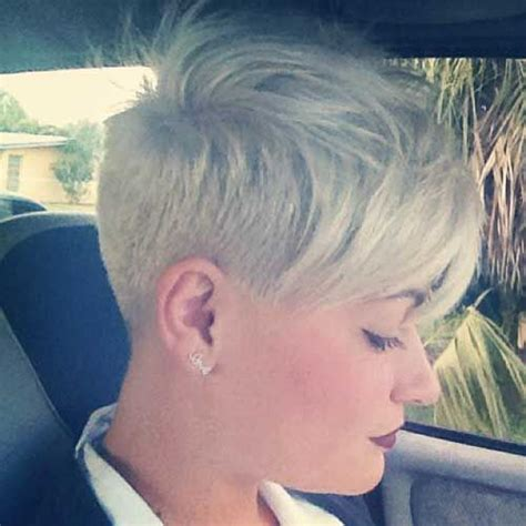 pixie cuts on heavy women pixie undercut round face