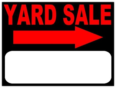yard sale template yard sale sign template world of letter format