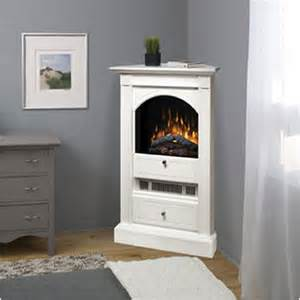 dimplex chelsea white corner electric fireplace at hayneedle