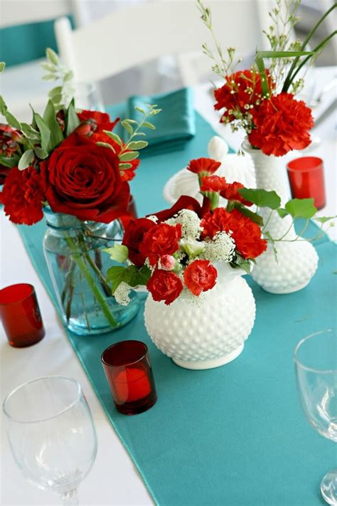red and teal gala dinner ssp9195 20th reu pinterest