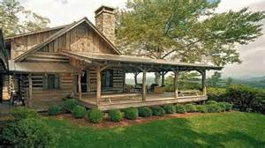 Farmhouse With Wrap Around Porch by Small Log Cabins With Lofts Small Log Cabins With Wrap