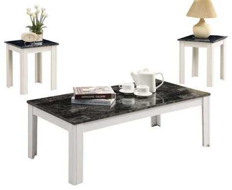 Grey Coffee Table Set by Monarch Specialties 7844p 3 Coffee Table Set In Grey