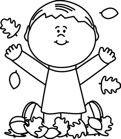 fall clipart black and white fall clip fall images