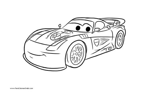 coloring pages cars 2 francesco