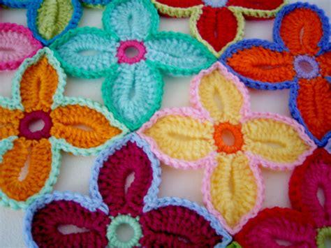 crochet pattern hawaiian flowers free pattern crochet hawaiian flowers tutorial